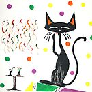 Partykatze by cloude-vigal