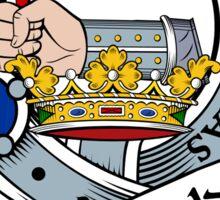 00027 MacDonald Clan/Family Tartan Sticker