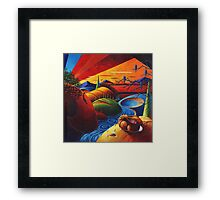 Evening Disquiet Framed Print