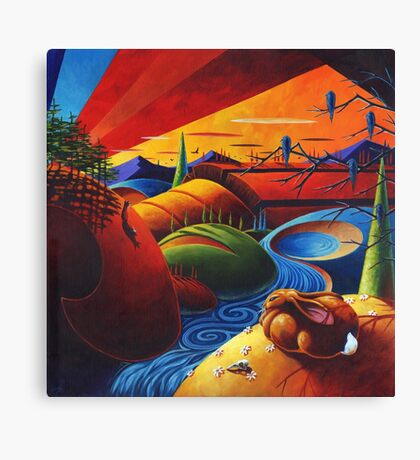 Evening Disquiet Canvas Print