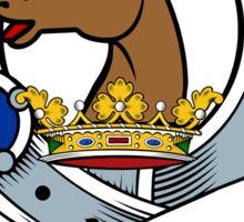 00028 Marshall #2 Clan/Family Tartan  Sticker