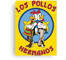 Breaking Bad - Los Pollos Hermanos Standard Logo Canvas Print