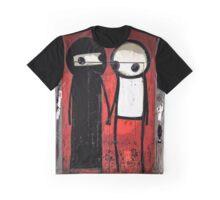 Street art by Stik in the Shoreditch area of London Graphic T-Shirt