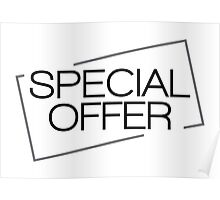 special offer Poster