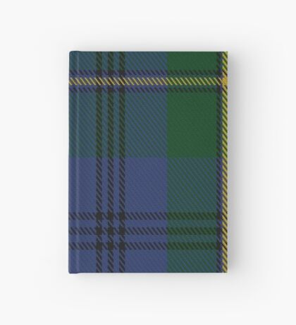 00046 Johnston(e) Clan Tartan  Hardcover Journal