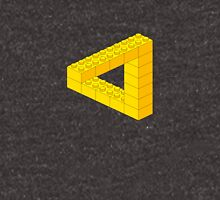 Lego-style impossible Penrose triangle shape Unisex T-Shirt