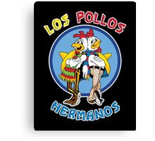 Breaking Bad - Los Pollos Hermanos - Colourful Variant Canvas Print