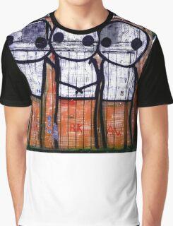 Street Art by Stik  Graphic T-Shirt