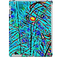 PEACOCK & PUSSY WILLOWS iPad Case/Skin