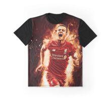 Philippe Coutinho - Explosive Design Graphic T-Shirt