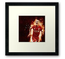 Philippe Coutinho - Explosive Design Framed Print