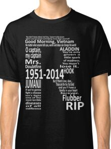 RIP Robin Williams - Tribute Classic T-Shirt