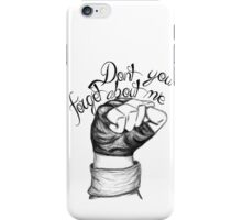 The Breakfast Club Finale iPhone Case/Skin