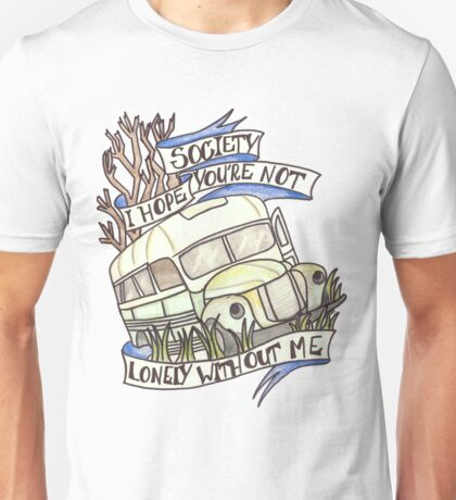 "Into the Wild ""Society"" Unisex T-Shirt"