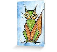 Le chat - the cat Greeting Card
