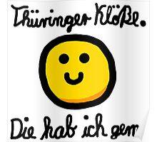 Thüringer Kloß Poster