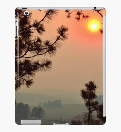 Wildfire Smoke  iPad Case/Skin