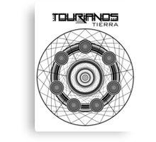 Tourianos Tierra 1 Negro - Tourians Earth 1 Black  Canvas Print
