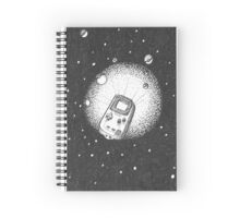 Deep Space Boy Spiral Notebook
