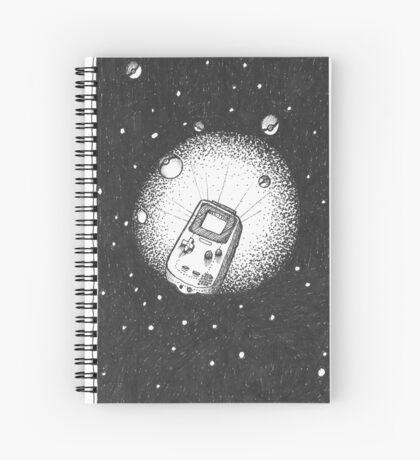 Deep Space Boy Spiral Notebook
