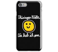 Thüringer Kloß (Weiß) iPhone Case/Skin