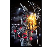 Robot Angel Painting 019 Photographic Print