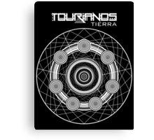 Tourianos Tierra 1 Blanco - Tourians Earth 1 White Canvas Print