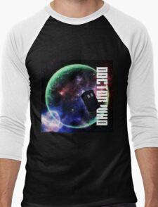 Doctor Who Slogan 3 Men's Baseball ¾ T-Shirt