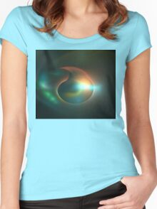 Submersible Women's Fitted Scoop T-Shirt