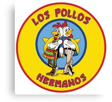 Breaking Bad - Los Pollos Hermanos -  Yellow Circle Variant Canvas Print