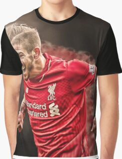 Alberto Moreno - Smoke Design Graphic T-Shirt