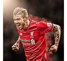 Alberto Moreno - Smoke Design Photographic Print