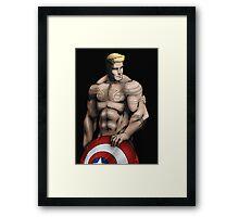 Capn Buff Framed Print
