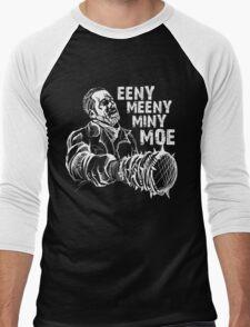 Negan Eeny Meeny... Men's Baseball ¾ T-Shirt