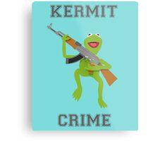 Kermit Crime Metal Print