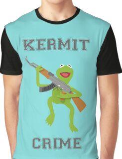 Kermit Crime Graphic T-Shirt