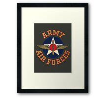 Army Air Forces Emblem  Framed Print