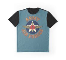 Army Air Forces Emblem  Graphic T-Shirt