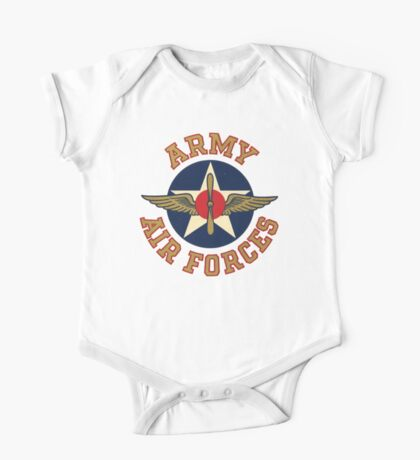 Army Air Forces Emblem  One Piece - Short Sleeve