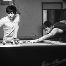 Pool Hall Dien Bien Phu Vietnam 2 by Andrew  Makowiecki