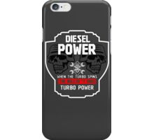 DIESEL POWER iPhone Case/Skin