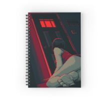 Spooky Lights Spiral Notebook