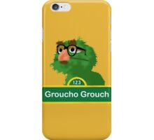 Groucho the Grouch iPhone Case/Skin