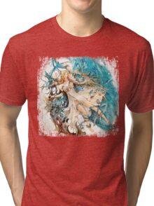 FFXIV The Gears of Change Tri-blend T-Shirt