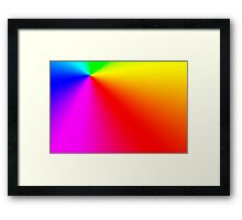 Color. Framed Print