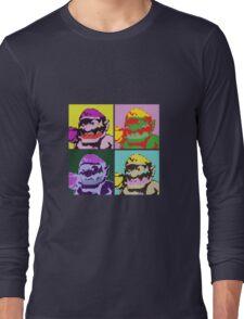 Wario Warhol Long Sleeve T-Shirt