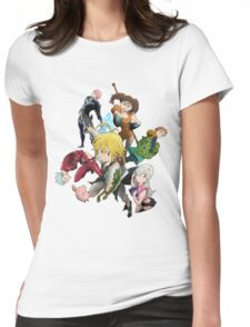 The Seven deadly sins Womens Fitted T-Shirt