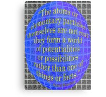A World of POSSIBILITIES Metal Print