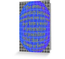 A World of POSSIBILITIES Greeting Card