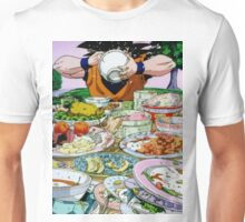 """Goku Eat - Dragon Ball Z"" Unisex T-Shirt"
